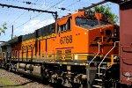 BNSF 6768 trailing on K138